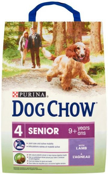 Purina Jagnięcina Dog Chow Senior 2,5kg 1