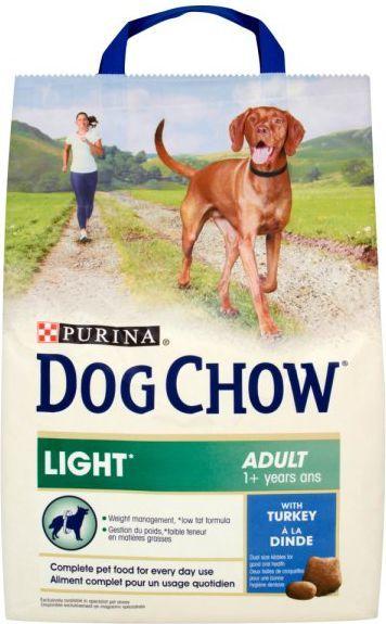 Purina Indyk Dog Chow Adult Light 2,5kg 1