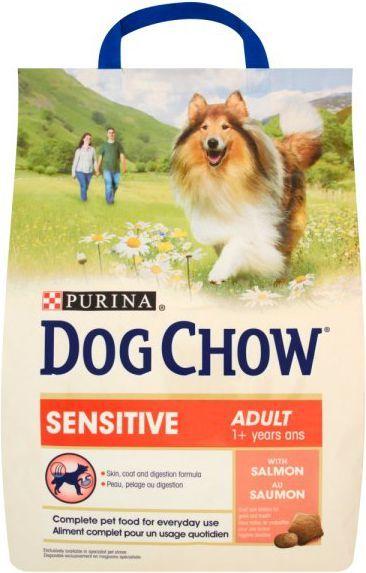 Purina Łosoś Dog Chow Adult Sensitive 2,5kg 1