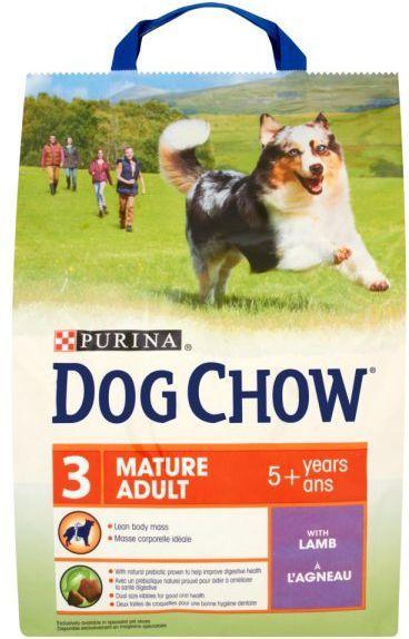 Purina Jagnięcina Dog Chow Mature Adult 2,5kg 1