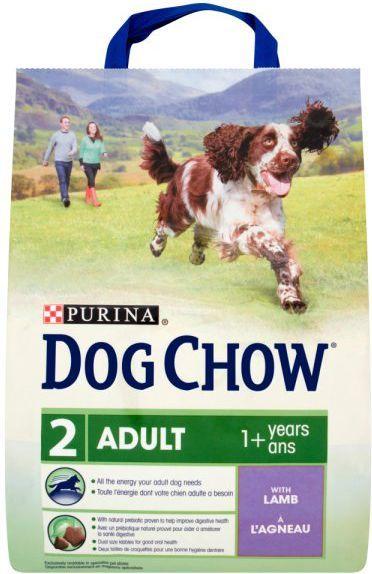 Purina Jagnięcina Dog Chow Adult 2,5kg 1