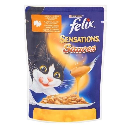 Felix Sensations Sauces z indykiem w sosie 100g 1