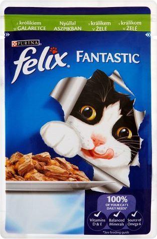 Felix Fantastic z królikiem w galaretce 100g 1