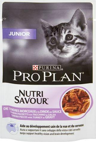 Purina Pro Plan Junior Nutrisavour Indyk 85g 1