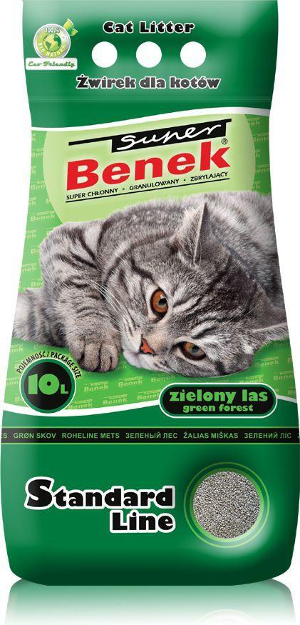 Super Benek Standard Zielony Las 10l 1