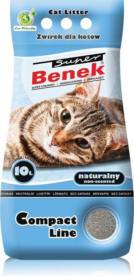 Super Benek Compact Naturalny 10l 1