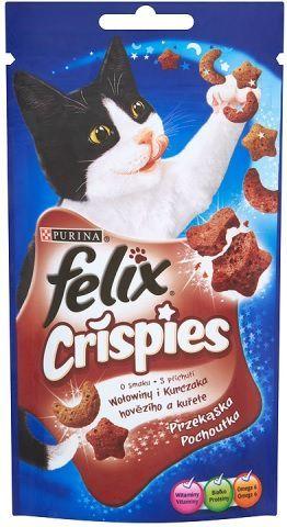 Felix Crispies Wołowina Kurczak 45g 1