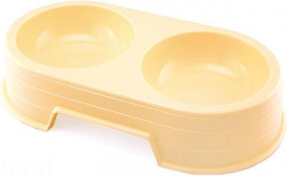 Sum Plast Miska plastikowa podwójna - 0,6l 1