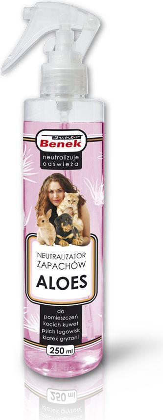 Super Benek Neutralizator zapachów Super Benek Aloes - 250 ml 1
