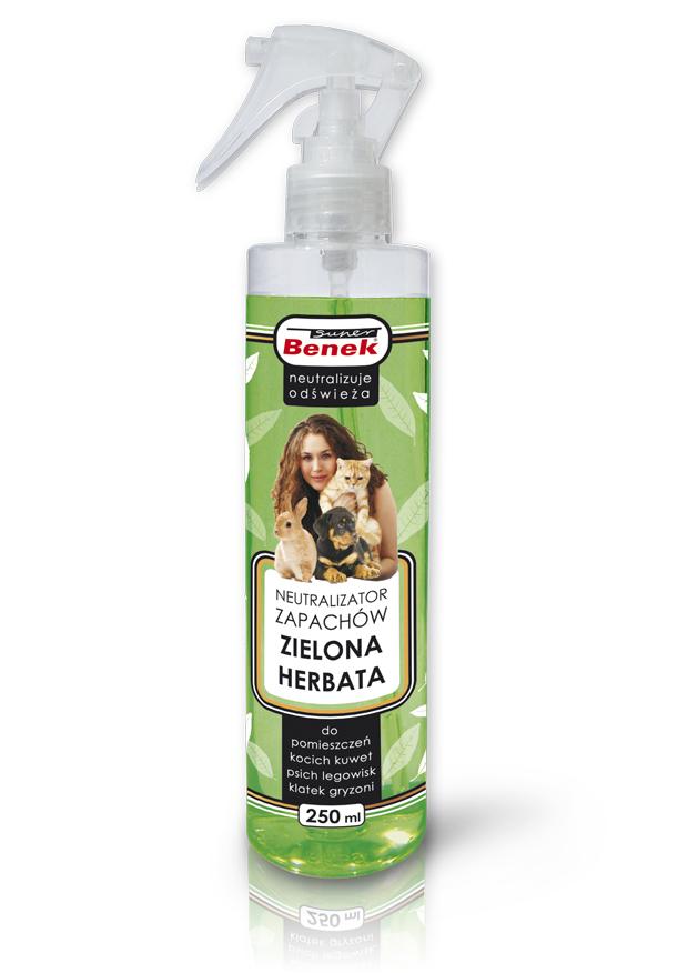 Super Benek Neutralizator zapachów Super Benek Zielona Herbata - 250 ml 1
