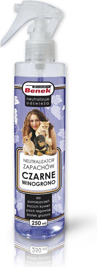 Super Benek Neutralizator zapachów Super Benek Czarne Winogrono - 250 ml 1