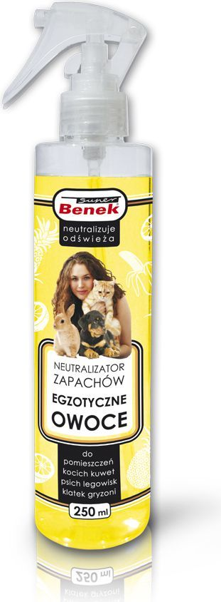 Super Benek Neutralizator zapachów Super Benek Egzotyczne Owoce - 250 ml 1