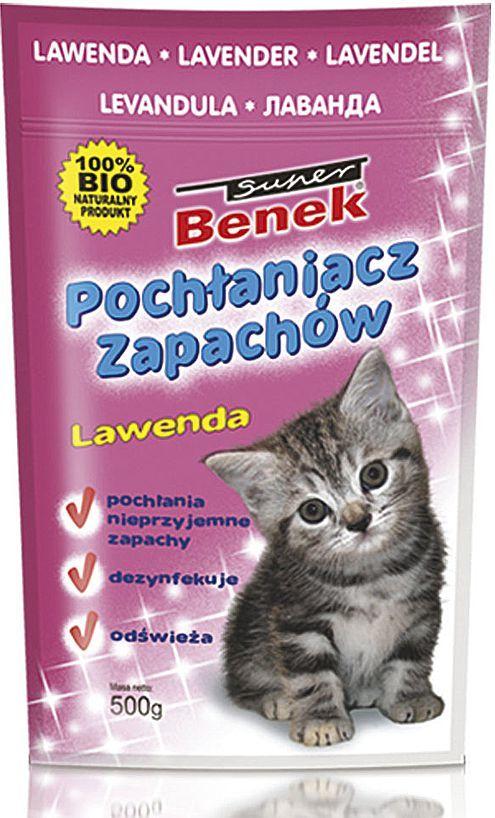 Super Benek Pochłanaicz zapachów Super Benek Lawenda - 450g 1