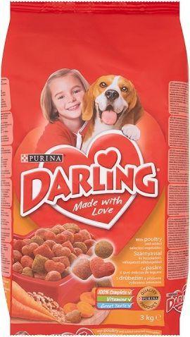 Darling Z drobiem i dodatkiem wyselekcjonowanych warzyw 3kg 1