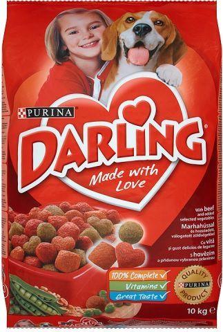 Darling Z wołowiną i dodatkiem wyselekcjonowanych warzyw 10kg 1