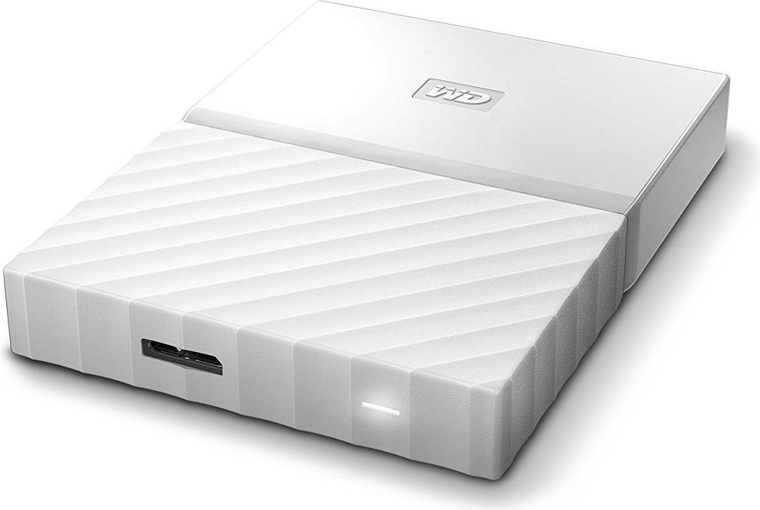 Dysk zewnętrzny Western Digital HDD My Passport 1 TB Biały (WDBYNN0010BWT-WESN) 1