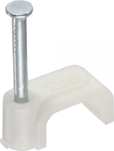 Organizer InLine Zacisk na kable 8mm - biały - 100 szt. (44020) 1
