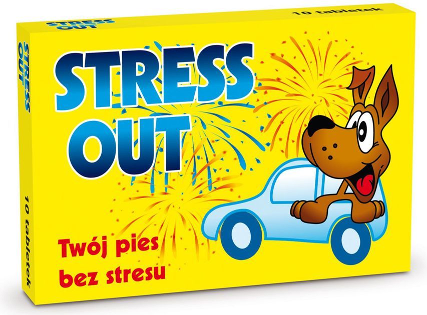 Dr Seidel Stress Out preparat uspokajający Dr Seidel 10szt 1