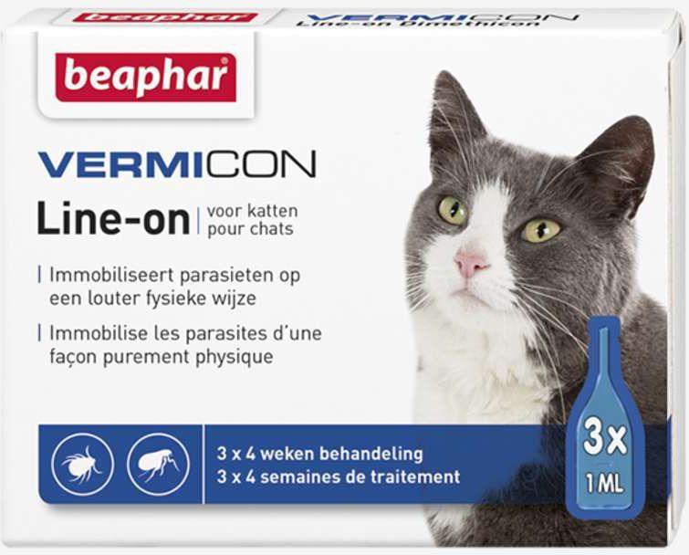 Beaphar Vermicon - Preparat na ektopasożyty dla kota 1