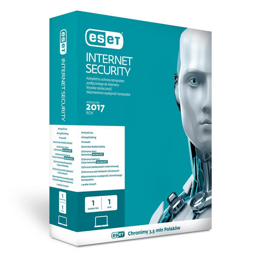 ESET Internet Security BOX 1U 36M (EIS-1U3Y-B) 1
