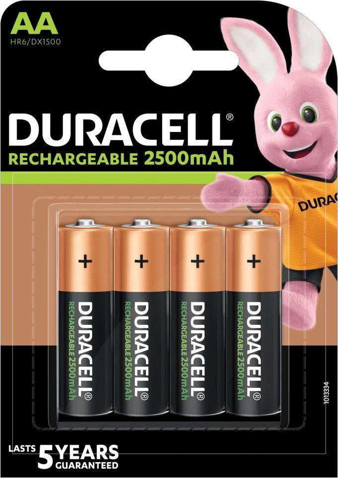 Duracell Akumulator AA / R6 2500mAh 4szt. 1
