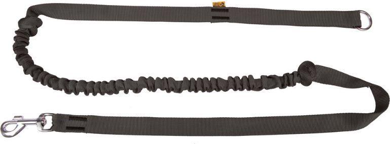 Dingo smycz z taśmy z amortyzatorem i rączką dł. 170 cm - 14696 1