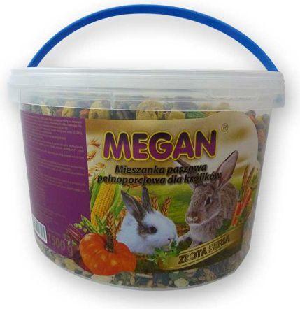 Megan Naturalny pokarm dla królika 3 l/1500g 1