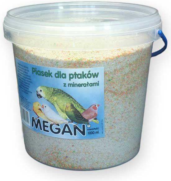 Megan Piasek dla ptaków z minerałami 1 l/1500g 1