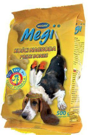 Megan Megi ciastka dla psa drób 500g 1