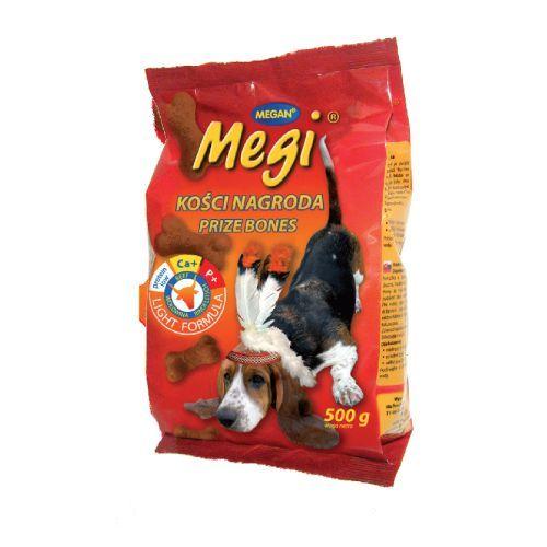 Megan Megi ciastka dla psa wołowina 500g 1