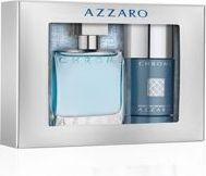 Azzaro ZESTAW Azzaro Chrome EDT spray 100ml + dezodorant sztyft 75ml 1
