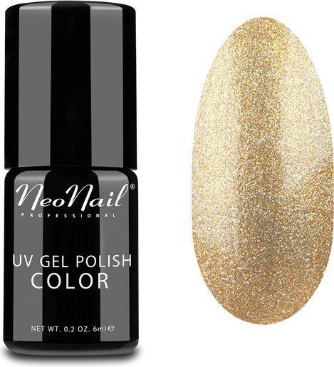 NeoNail Lakier Hybrydowy UV Gel Polish Color 4625-1 Copper Gold 6ml 1