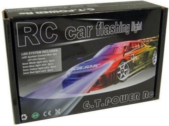 GPX Extreme Błyskowy system oświetlenia samochodu RC (GPX/GT27) 1
