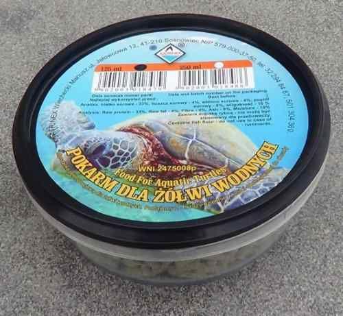 Katrinex Pokarm Dla Żółwi Wodnych 250ml 1