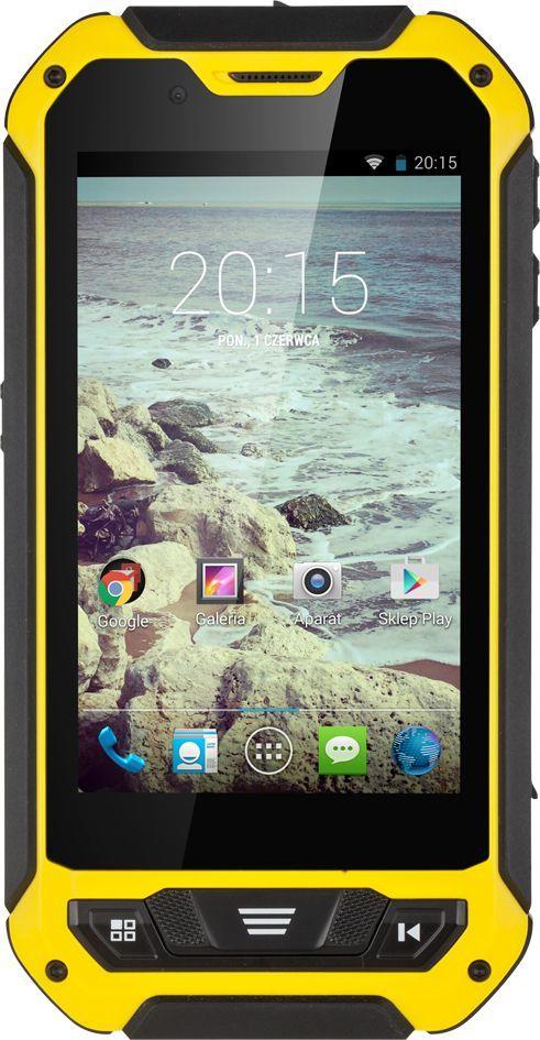 Smartfon Kruger&Matz 8 GB Dual SIM Czarny  (KM0436-B) 1