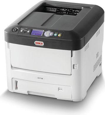 Drukarka laserowa OKI C712n (46406103) 1