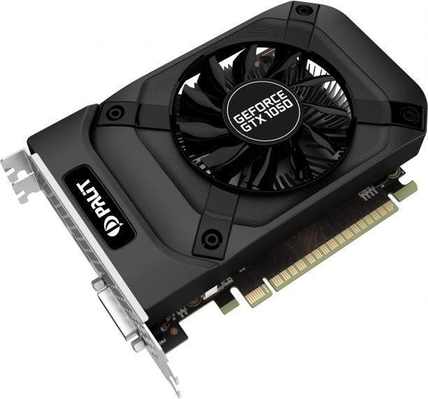 Karta graficzna Palit GeForce GTX 1050 StormX 2GB GDDR5 (128 Bit) DVI-D, HDMI, DP, BOX (NE5105001841F) 1