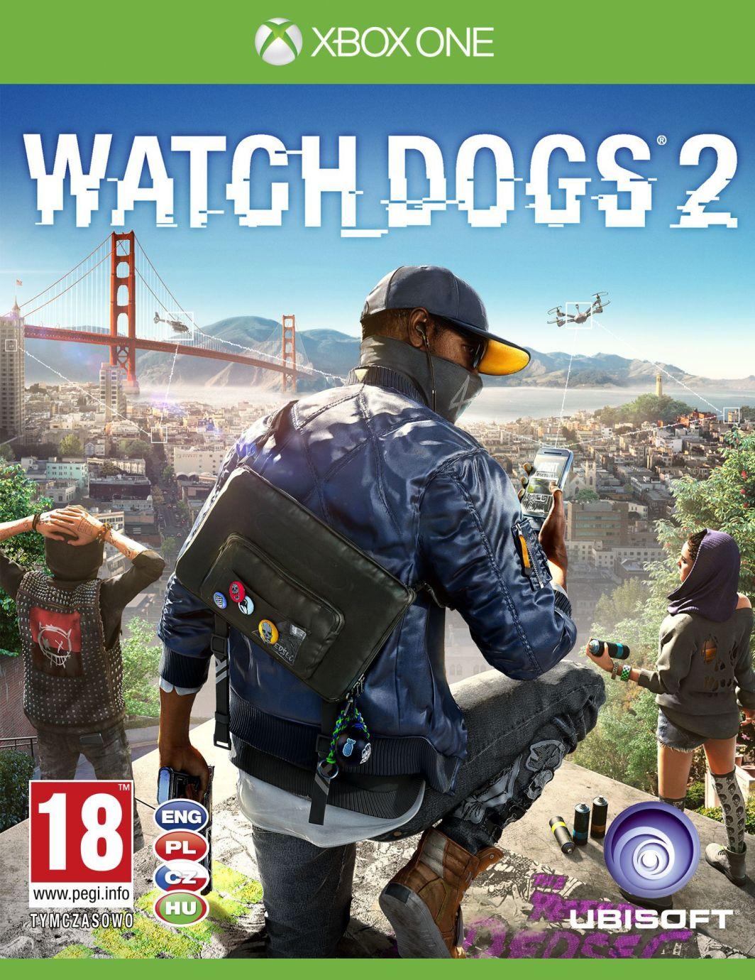 Watch Dogs 2 Edycja San Francisco Xbox One 1