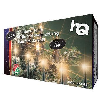 Lampki choinkowe HQ LED białe ciepłe 160szt. (HQCLS93429) 1