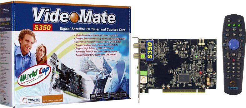 Compro VideoMate S350 ID Produktu 107654