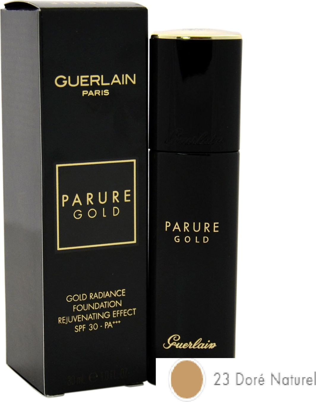 Guerlain Parure Gold Fluid Foundation podkład do twarzy 23 Dore Naturel 30ml 1
