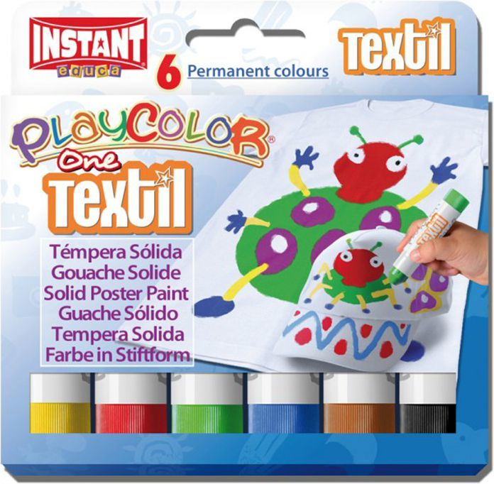 Corex Farby w sztyfcie Playcolor Textil One (10401) 1