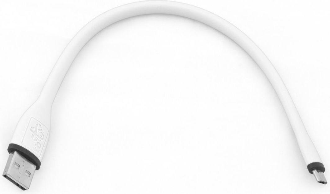 Kabel USB TB USB A -> Micro USB (M/M) 0.25m Biały 1