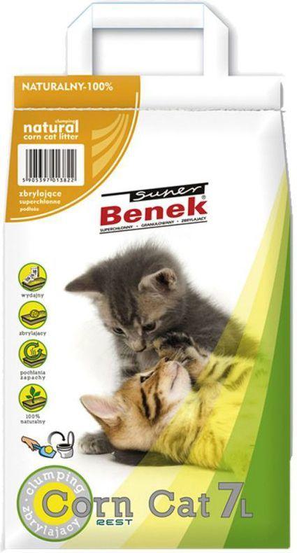 Super Benek SUPER BENEK 7l CORN CAT KUKURYDZIANY 1