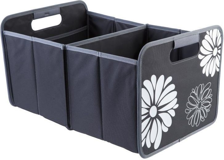 Meori Wielofunkcyjny rozkładany Box, Klasyczny, Duży, Czarny w kwiaty (A100002) 1