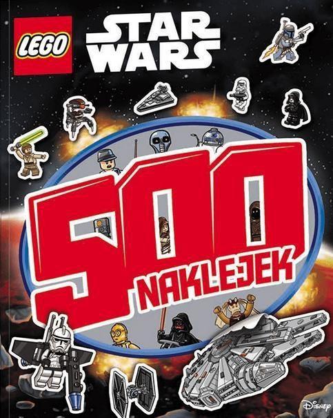 Ameet Książ. LEGO Star Wars. 500 naklejek LBS-301 AMEET - LBS-301 1