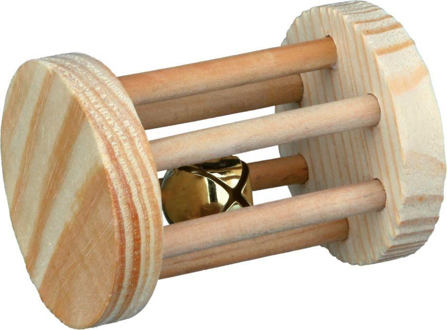 Trixie ZABAWKA DLA KRÓLIKA Rolka drewno 7×5 cm 1
