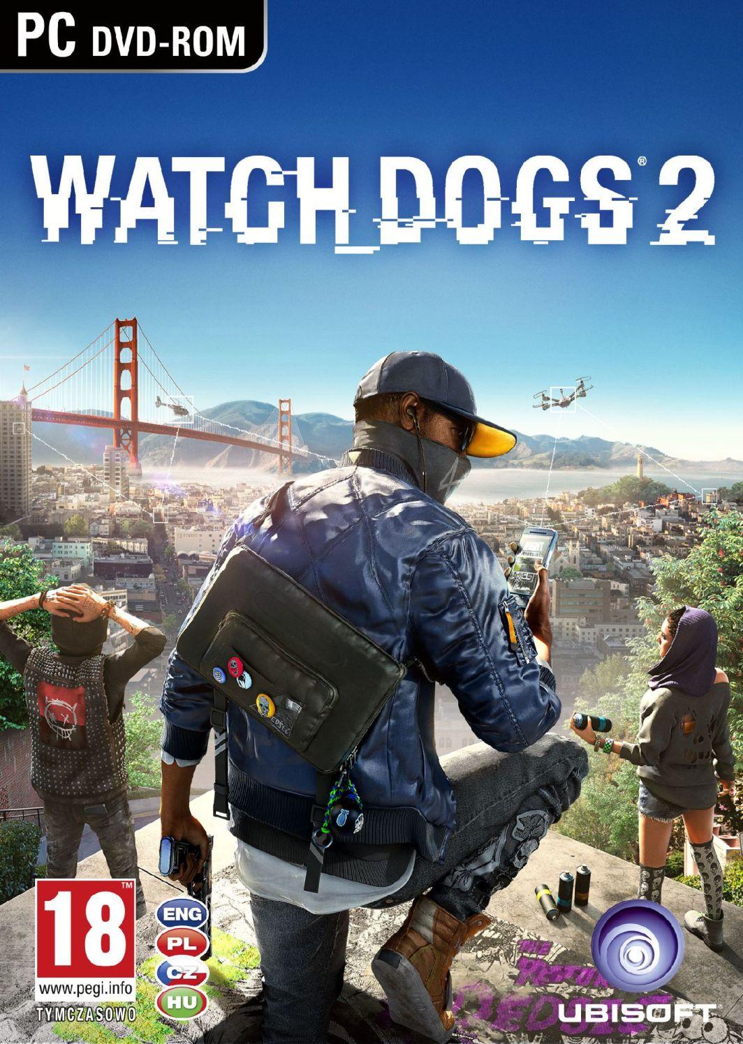 Watch Dogs 2 Edycja San Francisco PC 1