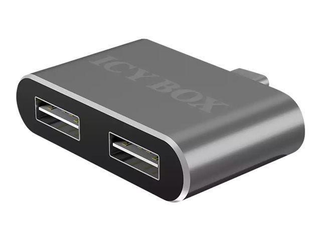 HUB USB Icy Box 1201-C 2-Port USB Type-C - IB-HUB1201-C 1