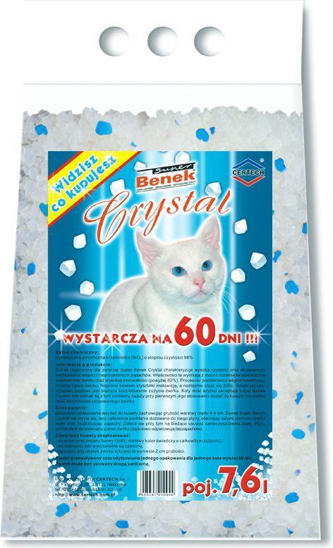 Super Benek Super Benek Crystal Naturalny 7,6l 1